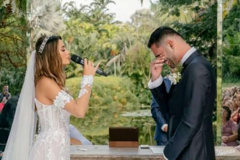 © Fornecido por LANCE! ISadora e Thiago se casaram em fevereiro de 2021 (Reprodução/Instagram)