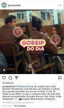 © Reprodução, Instagram/ @gossipdodia Luan Santana é flagrado com a nova namorada.